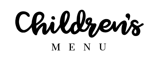 Children's Menu The Lobster & Grill