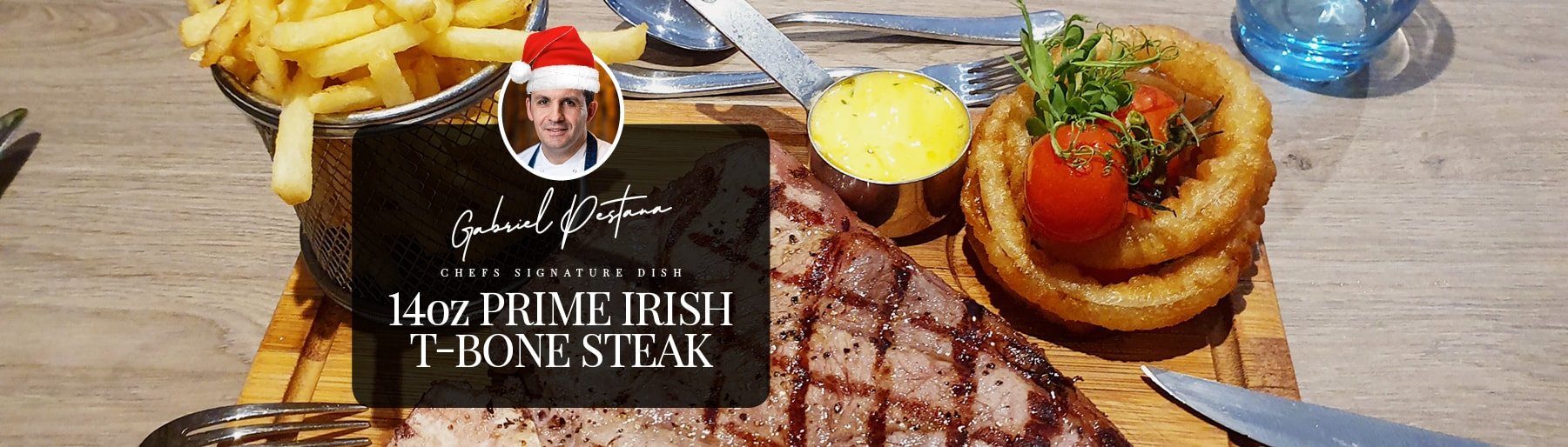 Chef Recommends T-Bone Steak