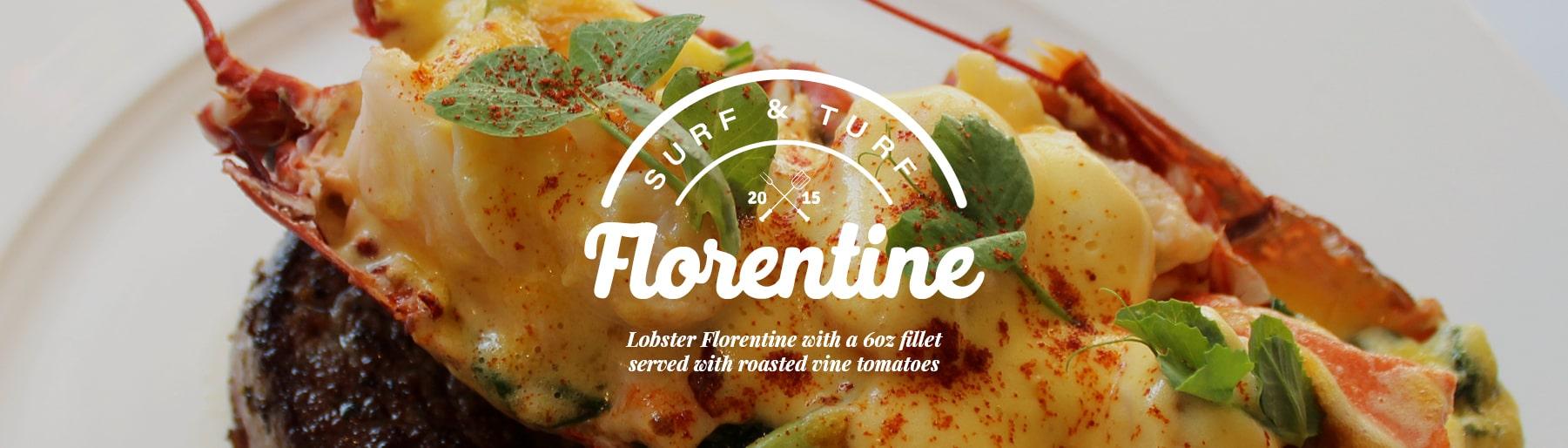 Surf & Turf Florentine